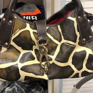 Gently used Giraffe Dooney & Bourke authentic bag